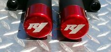 Yamaha 2009-14  R1  NO-CUT 3D Frame Sliders CANDY RED  2013 2012 2011 2010