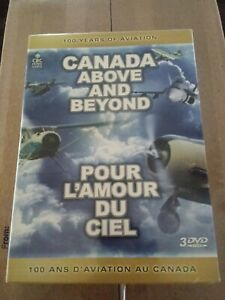 Canada Above  Beyond: 100 Years of Aviation (DVD, 2009) NEW