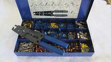 NAPA Belden Automotive Wire & Cable Kit in Metal Box Beldon 7504 Wire Stripper.