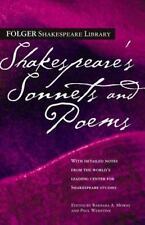 Shakespeare's Sonnets and Poems (Paperback or Softback)
