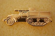 US USA Tank Destroyer Military Hat Lapel Pin