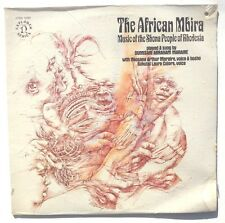 SEALED DUMISANI ABRAHAM MARAIRE: The African Mbira LP NONRSUCH RECORDS 1971