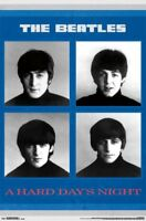 BEATLES - A HARD DAY'S NIGHT POSTER - 22x34 MUSIC 9090