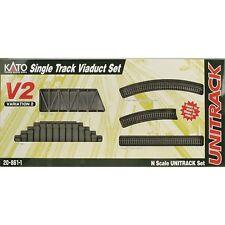 Kato 20-861-1, N Scale UniTrack V2 Single Track Viaduct Set, 208611