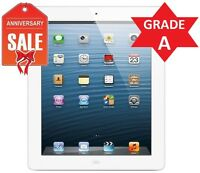 Apple iPad 4th Gen Retina Display 16GB, Wi-Fi 9.7in - WHITE - GRADE A (R)