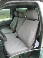 2010 Ford F150 Super Crew Front and Back Exact Fit Seat Covers -GRAY VELOUR Read