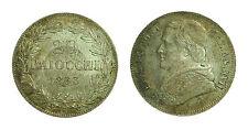 pcc1475_8) Stato Pontificio 20 Baiocchi  1863 R Pio IX Ann XVII - TONED