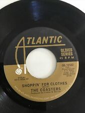 The Coasters Run Red Run Shoppin For Clothes Atlantic Vocal Doo Wop Soul 45 7�
