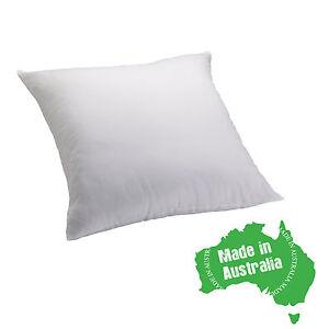 EASYREST Made In Australia EUROPEAN Pillow Insert Cotton Cover 65cm x 65cm