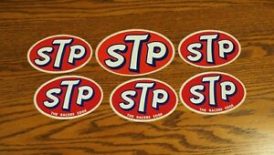 Vintage STP Racing Decals / Stickers - Lot E