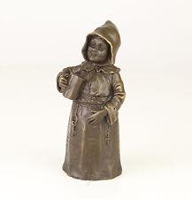 Bronze figürliche Glocke trinkender Mönch neu 99937633-dss