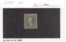 1918 MNH 1ct Green Geo Washington Perf 11x10 #538 - MNH SCV=$23