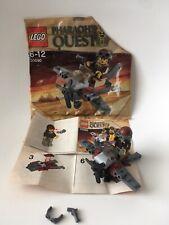 Lego minifigure Pharaohs quest plane 30090 100% Complete bag instructions 2011
