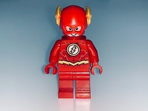 LEGO SUPER HEROES THE FLASH MINIFIGURE FROM SET 70698 - NEW