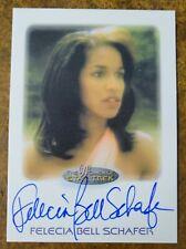FELECIA BELL SCHAFER as Jennifer Sisko 2010 Women of Star Trek AUTOGRAPH Card