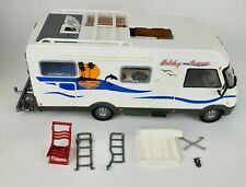 Hymer Majorette Holiday Camper Dickie Rv Rubber Tires Push Motorized Clean
