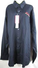 Budweiser Mens 2XL Cutter & Buck Button Front L/S Zink Distributing Shirt NEW (B