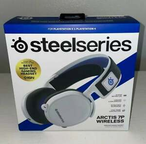 SteelSeries Arctis 7P Wireless Headset, White   FAST SHIPPING 📦💨