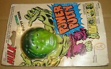 THE INCREDIBLE HULK POWER PUTTY - CEPPI RATTI MARVEL COMICS GROUP 1979