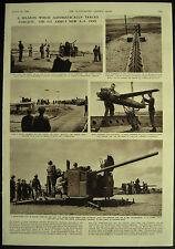U.S. Army Skysweeper New Automatic Anti Aircraft Gun 1954 Magazine Page Article