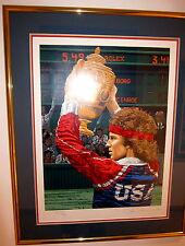 John McEnroe Happy Birthday America' limited edition SERIGRAPH RICK RUSH