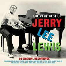 THE VERY BEST OF JERRY LEE LEWIS - 60 ORIGINALS RECORDINGS (NEW SEALED 3CD SET)