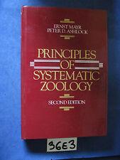 Mayr Ashlock PRINCIPLES OF SYSTEMATIC ZOOLOGY (36 E 3)