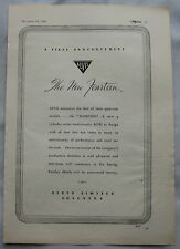 1945 Alvis Fourteen Original advert