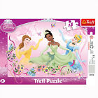 TREFL puzzle 15 pièces DISNEY Princesses Tiana Belle Cendrillon - 3+ NEUF