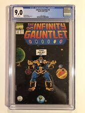 The Infinity Gauntlet #4 CGC 9.0, 1991, MCU Classic Thanos Cover