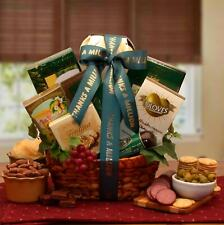A Gourmet Thank You Gift Basket/Nuts/Spreads/Treats