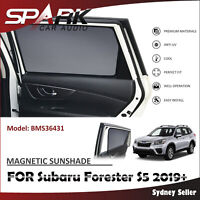 SP MAGNETIC CAR WINDOW SUN SHADE BLIND MESH REAR DOOR FOR SUBARU FORESTER 2019+