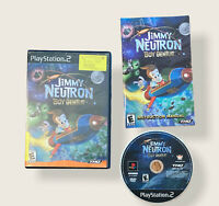 CIB Jimmy Neutron: Boy Genius (Sony PlayStation 2 PS2, 2002) Complete *TESTED*