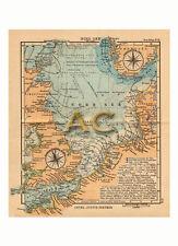#10224 Seekarte Nordsee Norwegen UK Belgien Niederlande Seefahrt Marine Karte