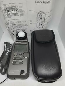 Sekonic L-358 Light Meter, w/ Case, Strap, and Manual. Excellent Cond. Works GR8