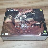 PlayStation 4 Pro Console MONSTER HUNTER WORLD LIOLAEUS EDITION Used