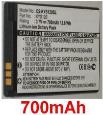 Batería 700mAh tipo 5AAXBT047GEA SCP-44LBPS TXBAT10188 Para KYOCERA Coast S2151