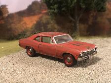 1968 Chevy Nova Rusty Weathered 1/64 Custom Barn Find Farm Car Diecast Rust