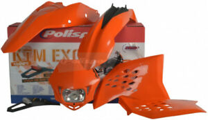 POLISPORT POLISPORT KIT (ORANGE) (90183) Front | Rear | Side 64-90183 992989