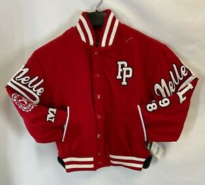 Pelle Pelle Kids JACKET Red SIZES S, XS Tag Price $220.00 NWT