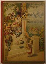1883 DAS ARTIGE KIND Johannes Trojan ILLUSTRATED Eugen Klimsch CHILDREN'S German