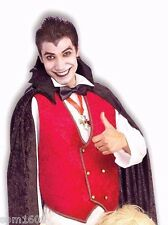 DOWN FOR THE COUNT VAMPIRE DRACULA ADULT HALLOWEEN COSTUME w/ INFLATABLE LOVER