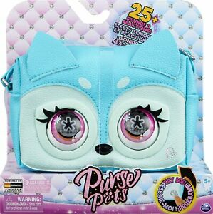 Purse Pets Fierce Fox Interactive Purse Pet with Over 25 Sounds and Reactions