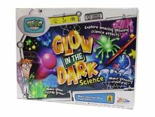 GLOW IN THE DARK WEIRD SCIENCE EXPERIMENT ACTIVITY CHEMISTRY TOY SET XMAS GIFT