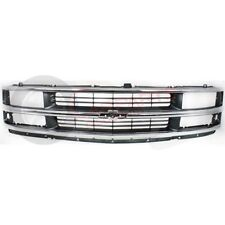 NEW 97 02 FRONT GRILLE FOR CHEVROLET EXPRESS 1500 2500 3500 GM1200382 15037242