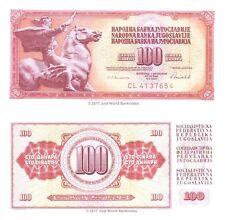 Yugoslavia 100 Dinara 1986 P-90c Banknotes UNC