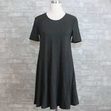 New Abercrombie & Fitch Womens Easy Fit Zipper Dress Dark Grey XS