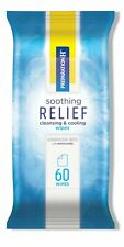 Preparation H Soothing Relief Cleansing and Cooling Wipes 60 Count Pack