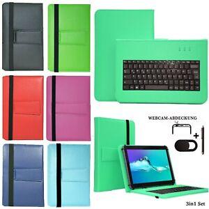 Tablet Hülle + USB Tastatur Tasche für Acepad A121 Schutzhülle 10.1' v2