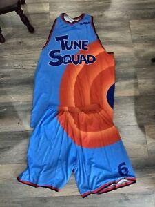 Lebron James Tune Squad Uniform Space Jam 2 New Mens XL Basketball Jersey